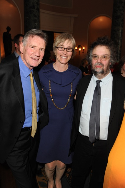 Michael Palin, actor in The Wipers Times, Kate and Stephen Poliakoff, writer of Dancing on the Edge (BBC2)