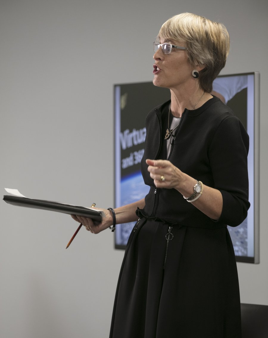 Kate Bulkley chaired the panel on virtual theatre and augmented reality, featuring demonstrations of the latest kit On November 1 2016 at The Hospital Club, London.