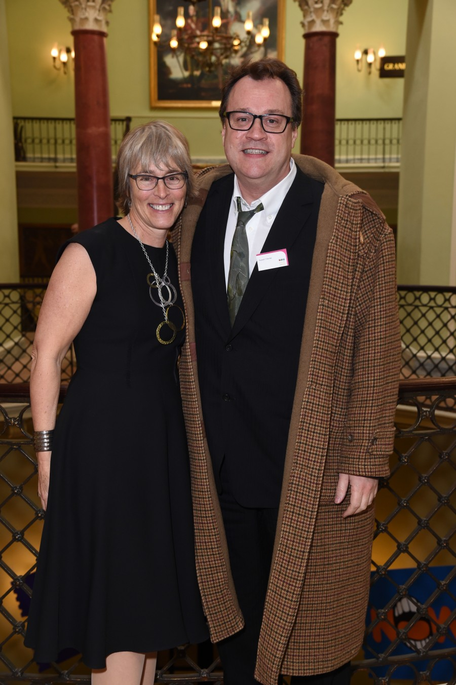 BPG Awards March 2016. Kate with Russell T Davies, who revived Dr Who and wrote Cucumber, Banana and Tofu for Channel4, E4 and All 4