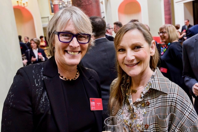 Kate and Lesley Sharp, actress, Three Girls