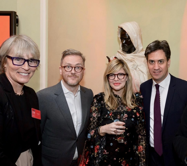 Kate, Geoff Lloyd, Emma Barnett and Ed Miliband, radio winners