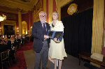 Membership Secretary Richard Last received a Special Award from chairman Kate Bulkley for his contribution to the Guild